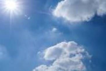 Слънчево с максимални температури между 7° и 12°