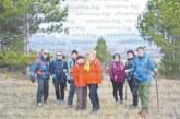 След празничните трапези кюстендилските планинари започнаха годината с поход до Граничкия манастир