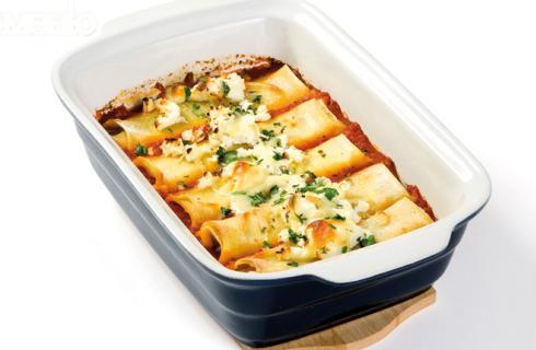 Канелони със сирене и кашкавал