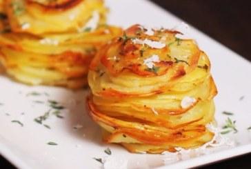 Картофени мъфини с пармезан