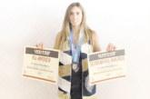 Хаджидимовката Е. Попадинова се размина с избор в драфта отвъд Океана, утеши се с две награди – с номинация за идеалния състав и за отличен успех