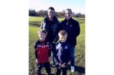 """Наставникът на орлетата У. Фийни доведе сина си Джордж от Англия да вкара гол за децата на """"Пирин"""", проведе наказателна тренировка на мъжете"""