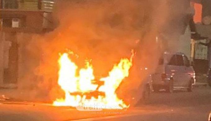 Банскалия избяга от болница в Пловдив, подпали колата на сестра си