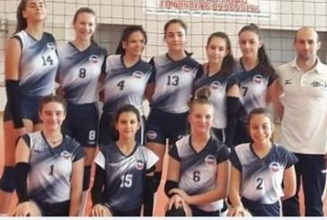 15-годишните волейболистки от Дупница триумфираха в зоналното първенство