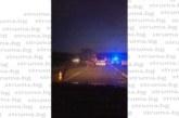 """Катастрофа между Тир и камион предизвика 5-километрово задръстване на АМ """"Струма"""""""