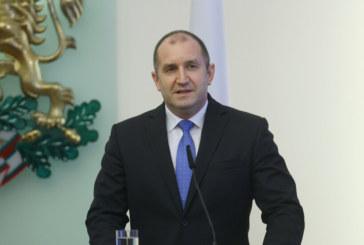 Президентът Р. Радев : Снемам доверието си от правителството