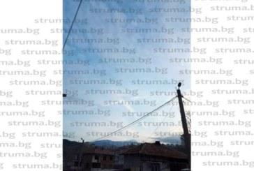 Необичайна гледка, разпятие в небето над Сандански, заснеха ученици