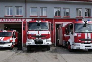 Пожарникари в спасителна акция за коте в Благоевград