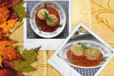 Мъфини от спагети в доматен сос