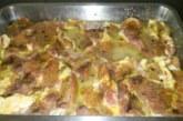 Свински вратни пържоли на фурна
