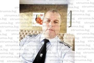 """Началникът на полицията в Кресна Ал. Кьосев стана шеф на """"Регистрации"""" в КАТ – Благоевград"""