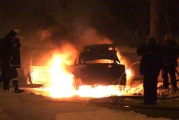 Огнен инцидент! Автомобил се запали в Кюстендил