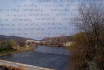 """Десетки рибари """"избягаха"""" от карантината край Струма, благоевградчани хванаха малък сом и го върнаха обратно в реката"""