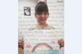 Първокласниците от Бачево нарисуваха красиви дъги – символ на надеждата