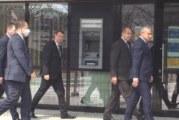 Президентът пристигна в Благоевград, започна заседанието на кризисния щаб