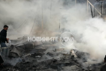 6-годишно дете загина при пожар в мигрантски лагер на остров Лесбос