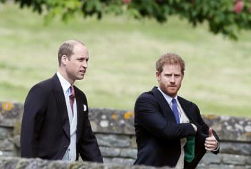 Уилям и Хари се страхуват за баща си