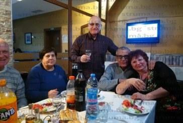 Бившият миньор Й. Пенков празнува 70-г. юбилей в Сандански, пожела си да се съберат и на 100-годишнината му