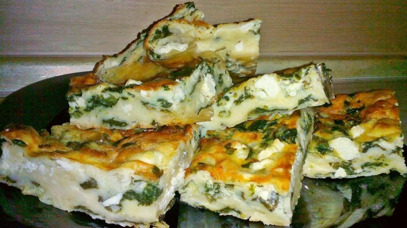 Баница със спанак и сирене