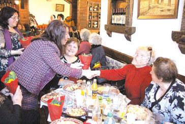 Пенсионерките от община Банско празнуват в аванс 8 март