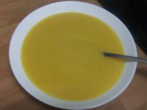 Крем супа от тиквички, картофи, моркови и тиква
