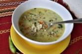 Супа със зеленчуци и свинско