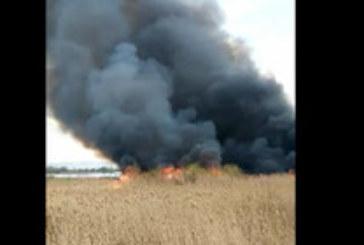 Голям пожар край Негован