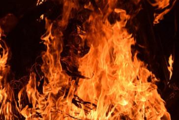 Пожар в мигрантски лагер в Гърция, щетите са огромни