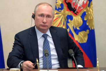 Путин удължи неработните дни до края на април