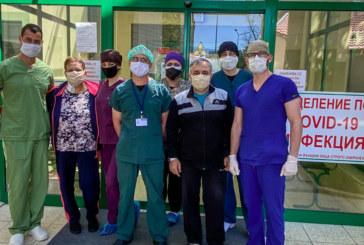 Изписаха семейство с коронавирус след 15-дневно интензивно лечение
