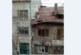 Покривът на къщата на бившия горски шеф в Пиринско инж. Г. Калабаков в топцентъра на Благоевград пред срутване