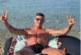 Кресналията К. Десподов се размечта за плажовете на остров Сардиния между две тренировки в залата