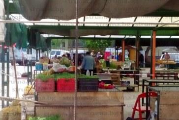 Вял ден на пазара в Дупница, от 30 търговци само петима опънаха сергиите, останалите чакат дните за пенсия