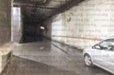 """Наводнението на паркинга под площад """"Г. Измирлиев"""" е от канализацията, проверява се за течове новоремонтираният площад"""