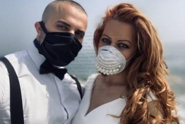 Вместо две сватби – в България и Канкун, Мексико, заради вируса младоженци от Пиринско се бракосъчетаха с маски в Ирландия