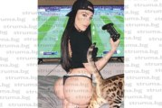 Дупнишката плеймейтка  Моника Валериева с провокативна снимка от домашния изолатор