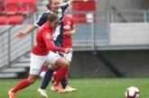 Петричанката Л. Костова в сблъсък с крив съперник в мача  на завръщането на футбола в Унгария след пандемията