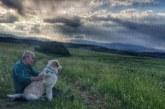 Адвокат Ал. Мановски и 5-месечният му приятел Бари с вълнуваща фотосесия увековечиха небето над Зелен дол пред буря