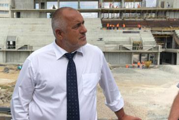 Бойко Борисов инспектира интерконектора България-Гърция