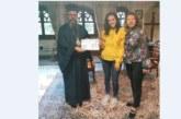 Ученичка на НПГ с награда от Неврокопския митрополит