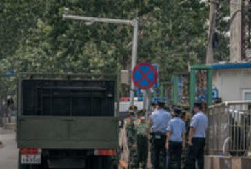 Бум на заразени с коронавирус на голям пазар в Пекин