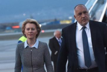 Бойко Борисов и Урсула фон дер Лайен обсъдиха възстановяването на ЕС след COVID-19