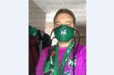 """Цикламените екипи на ФК """"Пирин"""" развеселиха благоевградчани, според бившия съветник Вл. Елезов цвят кактус-лила носи късмет и благосъстояние"""