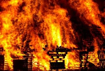 Огнен ужас! Пламна къща в Покровник