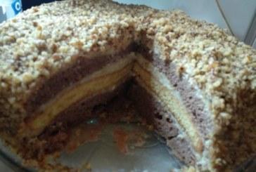 Орехова торта с какао