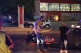 Благоевградска кримка падна от мотор и потроши кола