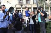 Протест пред МВР, искат оставката на вътрешния министър