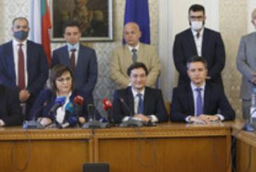 Първи реакции в Народното събрание след  промените в кабинета