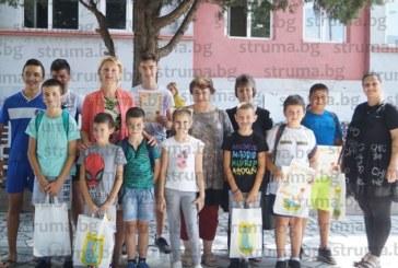 """Деца от Струмяни демонстрираха умения и спортен хъс в състезанието """"Веломайсторство"""""""