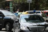 Катастрофа с кола на НСО в София
